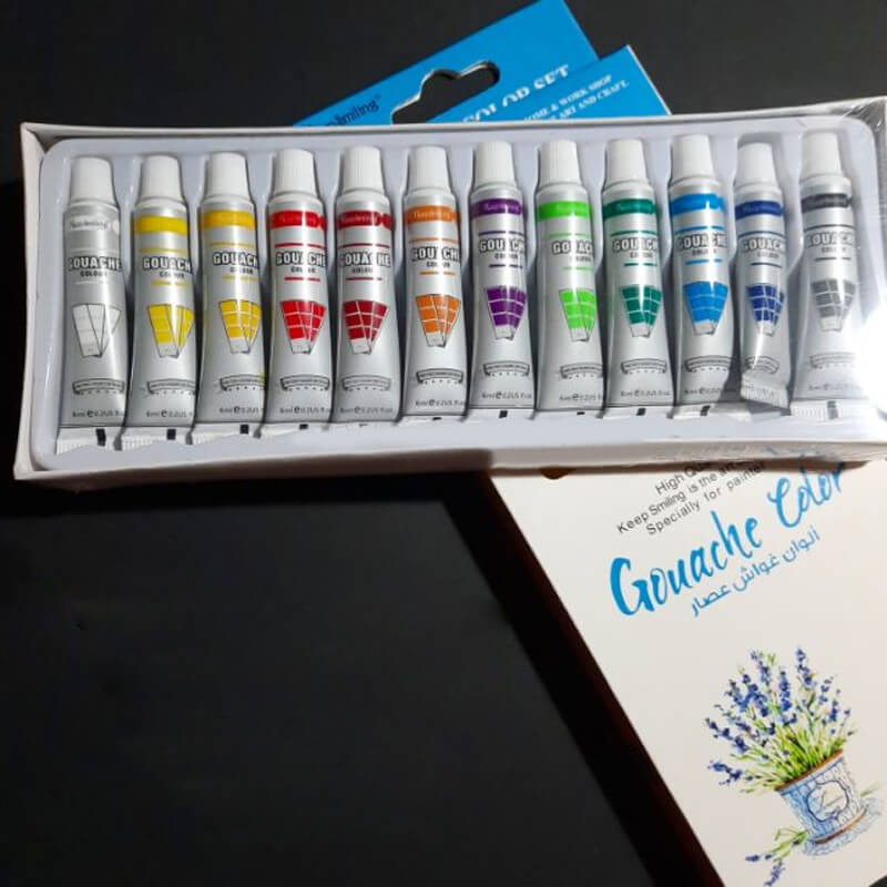Гваш бои за рисуване