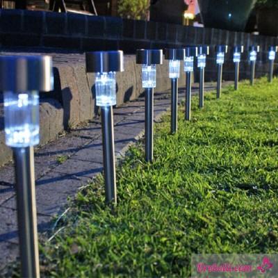 Градински соларни LED лампи