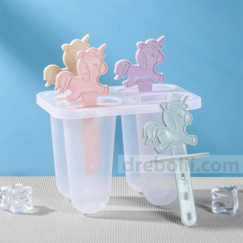 Формички за ледени близалки и сладолед, Еднорози