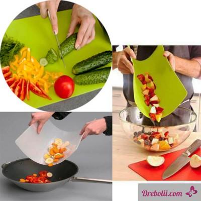 Гъвкави кухненски дъски за рязане