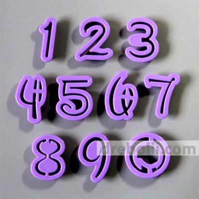 Пластмасови резци Цифри