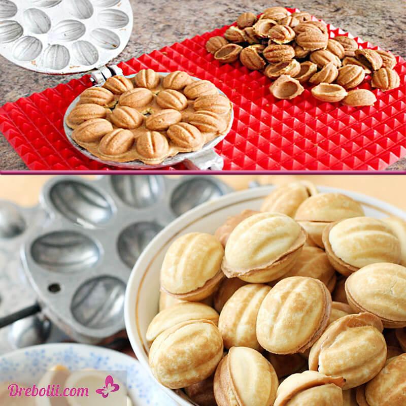 Преса за сладки орехчета - половинки