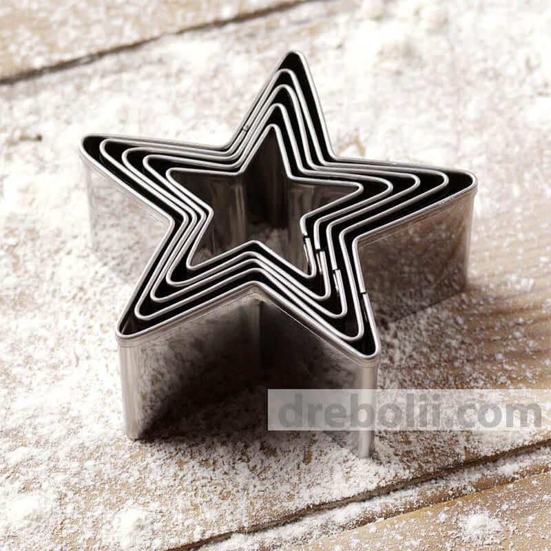 """Метални резци """"Звезди"""""""