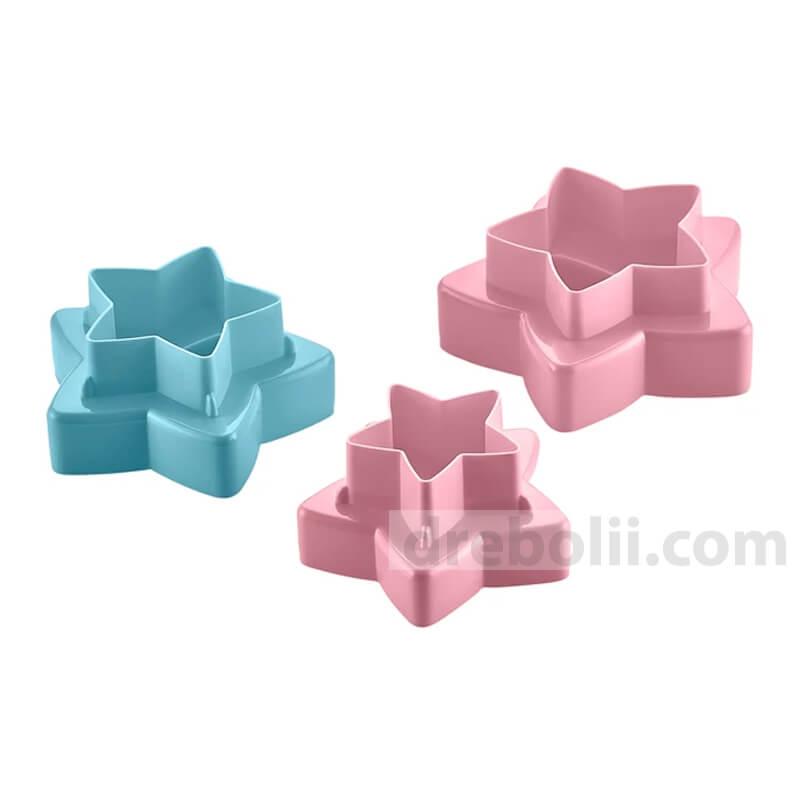 Комплект форми за сладки, Звезди