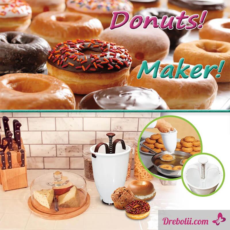 """Шприц за понички """"Donut Maker"""""""
