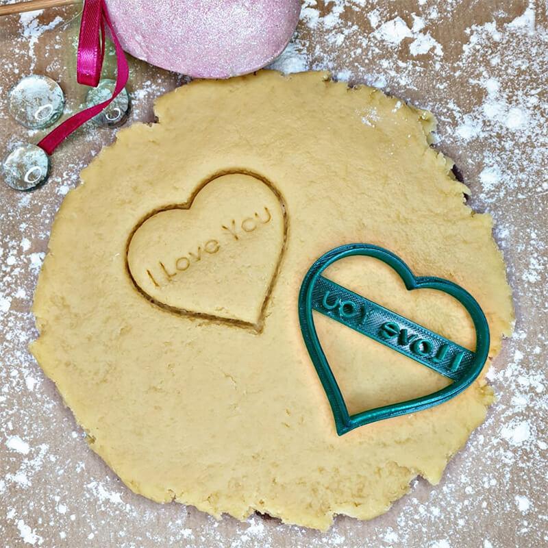 Резец за сладки, Сърце I Love You