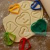 Резец за сладки, Сърце с надпис
