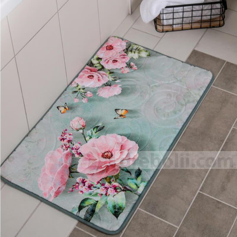 Постелка за баня, Рози