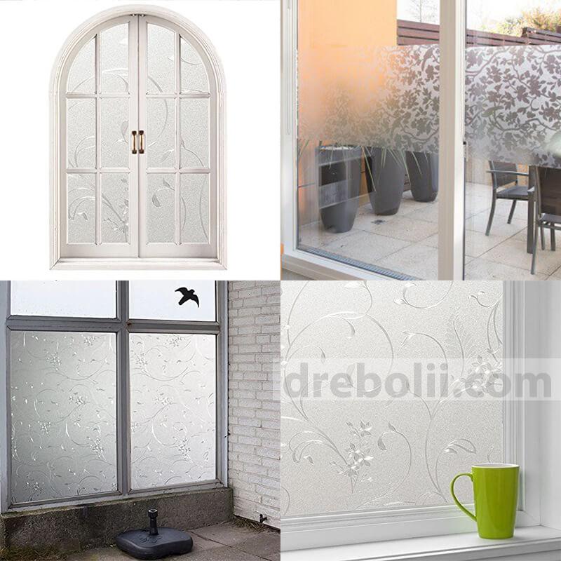 Самозалепващо фолио за прозорци