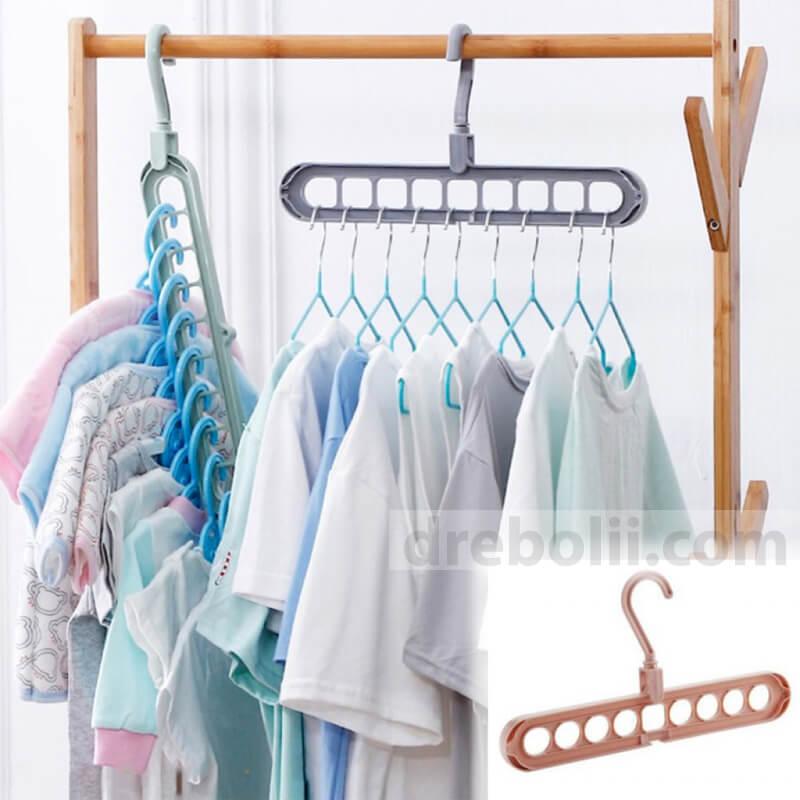 Закачалка - органайзер за дрехи