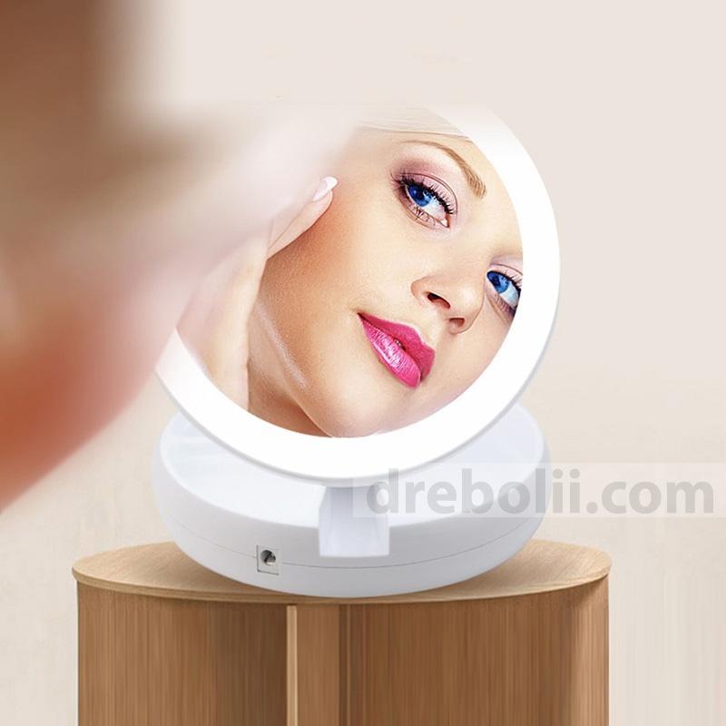 Двойно огледало с LED осветление