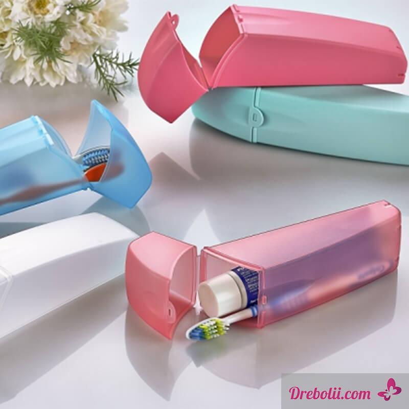 Кутия за четка и паста за зъби